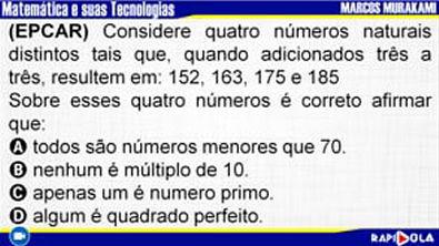 MATEMÁTICA EPCAR - QUESTÃO 2