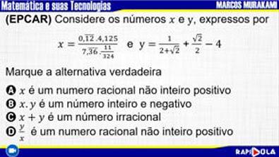 MATEMÁTICA EPCAR - QUESTÃO 3