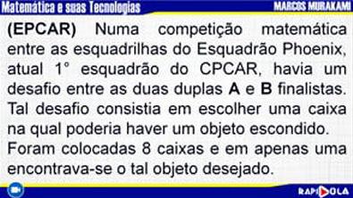 MATEMÁTICA EPCAR - QUESTÃO 16