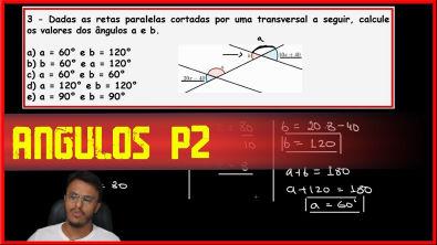 Matemática Básica - Ângulos Parte 2