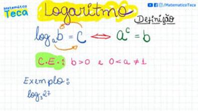 Logaritmo Aplicação da Definição