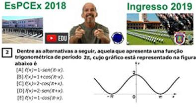 Função Trigonométrica - Concurso da EsPCEx 2019