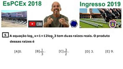 Logaritmo -Concurso da EsPCEx 2019