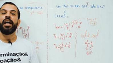 Matemática com Chucrute - Binômio de Newton 6