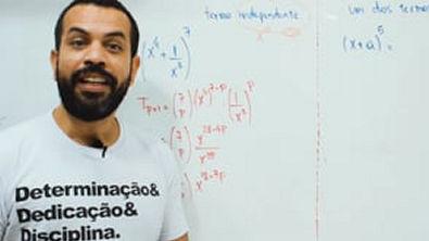 Matemática com Chucrute - Binômio de Newton 5