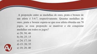 Matemática com Chucrute - Razões e proporções 5