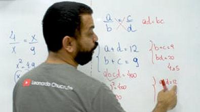 Matemática com Chucrute - Razões e proporções 4