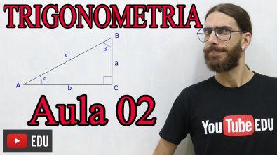 Trigonometria: Razões Trigonométricas: SENO/COSSENO/TANGENTE - Minicurso: Aula 02   Prof Rafa Jesus