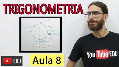 CICLO TRIGONOMÉTRIC0   Trigonometria Básica - Matemática - Aula 08