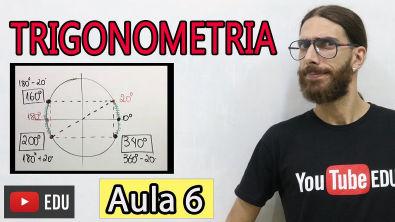 Entenda o Ciclo Trigonométrico - Trigonometria Básica Aula 06