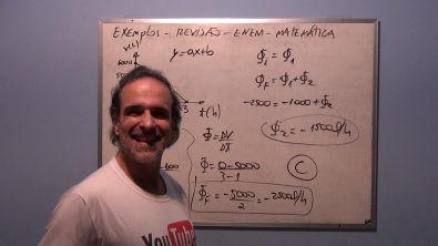 Revisão ENEM Exemplos Funções 1° e 2° Grau