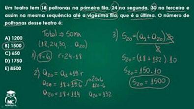 Progressão aritmética - Questão comentada 02