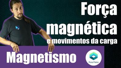 Física - Magnetismo: Movimentos da carga no campo magnético
