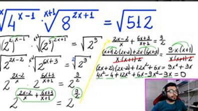 NÍVEL HARD: Equação Exponencial / Você Consegue Resolver?