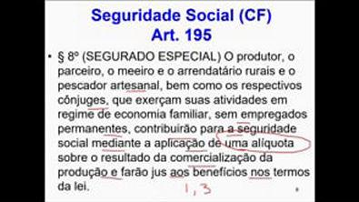 aula 4 - Aula Avançada - Seguridade Social - Princípios Constitucionais Específicos - Art 195 da CF - parte 2