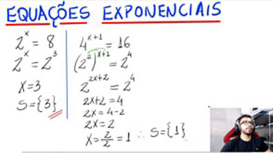EQUAÇÕES EXPONENCIAIS (Introdução)