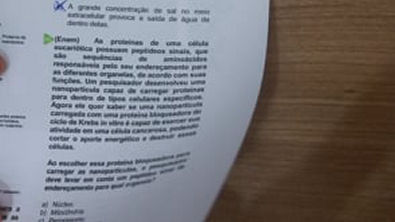 Resolução Exercício 05 - Citologia