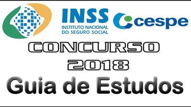 Concurso INSS 2018 - CESPE