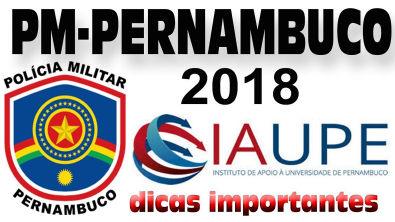 Polícia Militar de Pernambuco 2018 - IAUPE