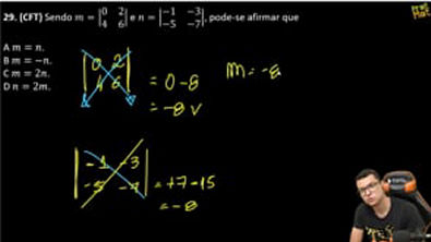EEAR-DETERMINANTE DE MATRIZ 2X2
