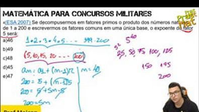 ESA 2007-DECOMPOSIÇÃO EM FATORES PRIMOS