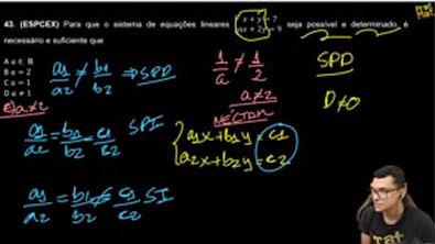 ESPCEX-DISCUSSÃO DE UM SISTEMA 2X2X