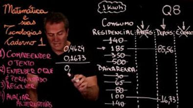 Questão 8 Caderno 1 Só ENEM Matemática