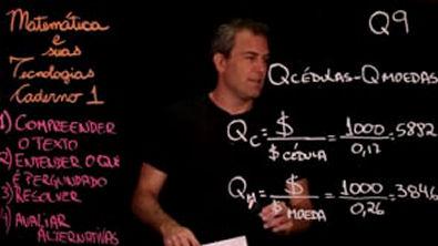 Questão 9 Caderno 1 Só ENEM Matemática
