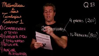 Questão 13 Caderno 1 Só ENEM Matemática