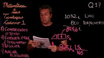Questão 17 Caderno 1 Só ENEM Matemática