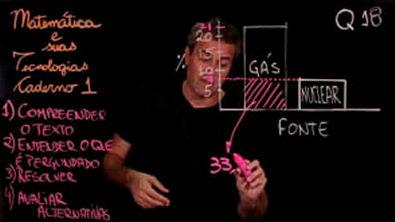 Questão 18 Caderno 1 Só ENEM Matemática