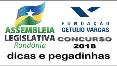 Assembleia Legislativa de Rondônia FGV 2018