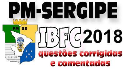 PM Sergipe - IBFC - 2018 Roteiro de Estudos