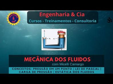 #MECFLU 8 Lei de Pascal e Carga de Pressão | Estática dos Fluidos | por Micelli Camargo