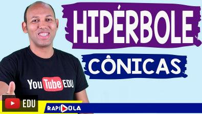 HIPÉRBOLE - Assíntotas da hipérbole #04