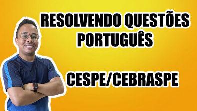 RESOLVENDO A PROVA DA PCDF/2013 - PORTUGUÊS