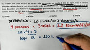 Questão 5 - 1° Exame de Qualificação UERJ 2019/2020   Marcelão da Química