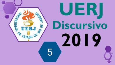 UERJ 2019 Prova discursiva de QUÍMICA - Questão 5