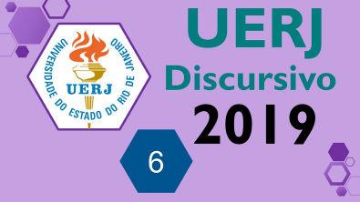 UERJ 2019 Prova discursiva de QUÍMICA - Questão 6