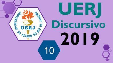 UERJ 2019 Prova discursiva de QUÍMICA - Questão 10