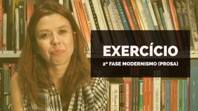 VAMOS RESOLVER: Exercício 2ª fase Modernismo (prosa)