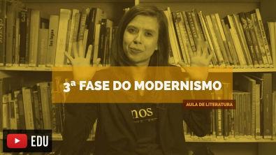 Literatura Brasileira: 3ª Fase do modernismo (Aula 19)