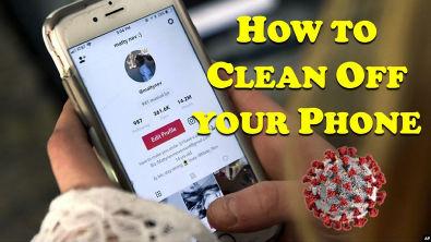 How to Clean Off your Phone - [INGLÊS INTERMEDIÁRIO - Texto, Tradução e Áudio]