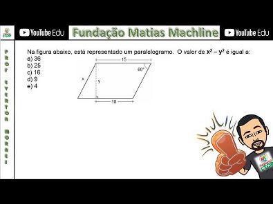 Fundação Matias Machline - Questão 54 - Exame de Seleção 2017