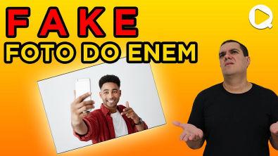 FAKE sobre a FOTO do ENEM - Tudo sobre a foto