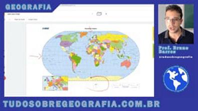 Território Brasileiro: Localização, Extensão e Fronteiras - Geografia do Brasil