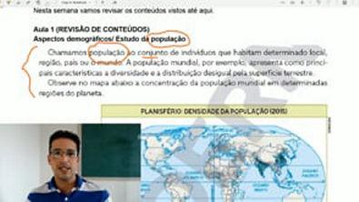 Aspectos Demográficos - Estudo da População - Conceitos Básicos