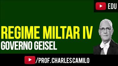 REGIME MILITAR 4: GOVERNO GEISEL (1974-1979)