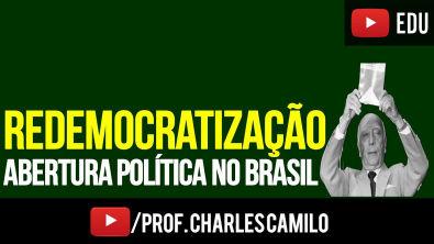 REDEMOCRATIZAÇÃO DO BRASIL (1985-1989)