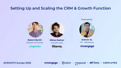 Setting Up and Scaling the CRM & Growth Function